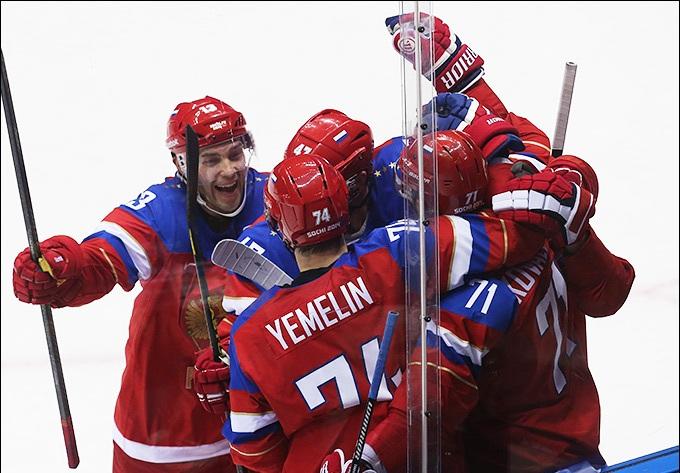 1392735568 b 18 fevralja 2014 goda sochi xxii zimnie olimpijskie igry khokkej kvalifikacija rossija norvegija 4 0