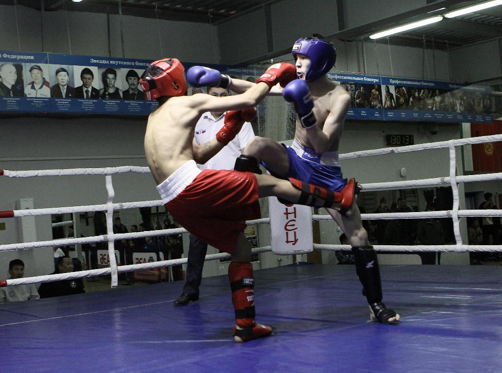 А для девушек есть бокс